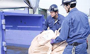 廃棄物の収集運搬業